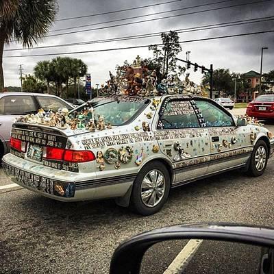 Car Wall Art - Photograph - Orlando, Florida, Usa - January 9th by Juan Silva