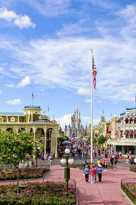 Photograph - Orlando Florida - Walt Disney World by Russell Mancuso