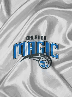 Sport Painting - Orlando Magic by Afterdarkness