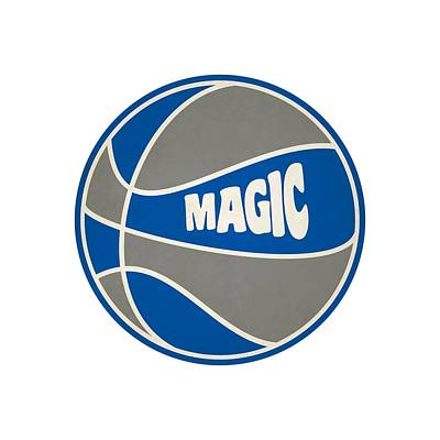 Orlando Magic Photograph - Orlando Magic Retro Shirt by Joe Hamilton