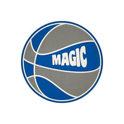 Clip Art Photograph - Orlando Magic Retro Shirt by Joe Hamilton