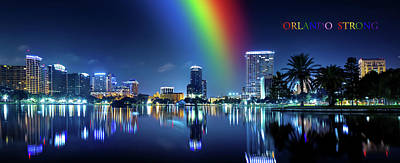Photograph - Orlando Strong by Mark Andrew Thomas