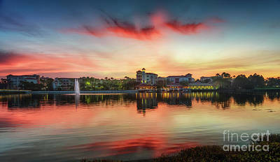Photograph - Orlando Sunrise by Hugh Walker
