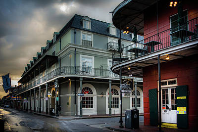 Morning Photograph - Orleans And Bourbon by Greg Mimbs