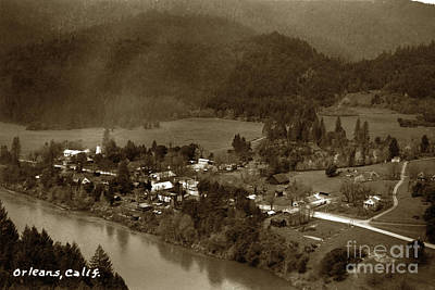 Photograph - Orleans, On The Klamath Riverhumboldt County, California by California Views Mr Pat Hathaway Archives