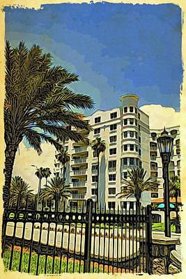 Photograph - Ormond Beach Heritage View by Alice Gipson