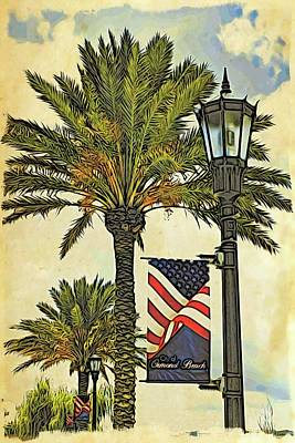 Photograph - Ormond Beach Patriotic by Alice Gipson