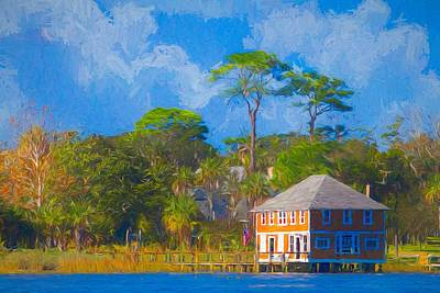 Photograph - Ormond Yacht Club by Alice Gipson