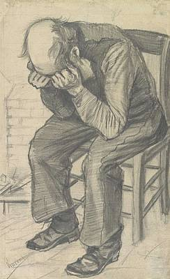 Painting - orn Out The Hague  November 1882 Vincent van Gogh 1853  1890 by Artistic Panda