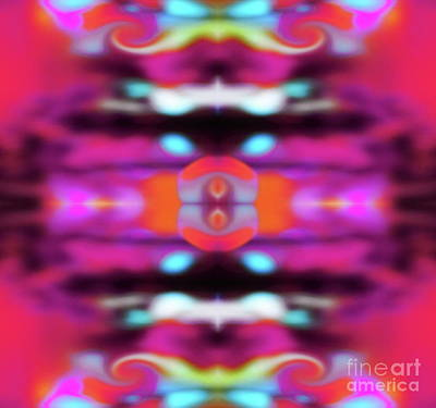 Digital Art - Ornament by Expressionistart studio Priscilla Batzell