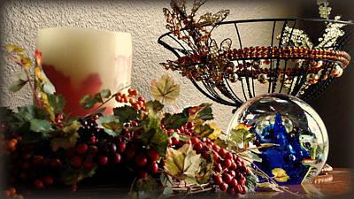 Photograph - Ornamental Display by Katie Wing Vigil