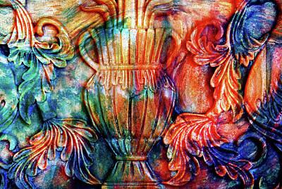 Digital Art - Ornamental Magic Abstract Realism by Georgiana Romanovna