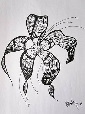 Passionate Drawing - Ornamental    by Rosita Larsson