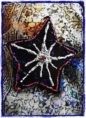 Hand Crafted Digital Art - Ornaments 14 Card 1 by Sarah Loft