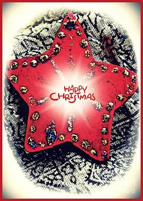 Handcrafted Digital Art - Ornaments 15 Card 3 by Sarah Loft