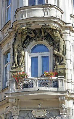 Photograph - Ornate Balcony In Prague by Richard Rosenshein