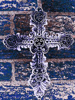 Ornate Cross 2 Art Print