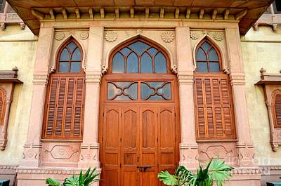 Photograph - Ornate Designed Entrance Doorway To Mohatta Palace Museum Karachi Pakistan by Imran Ahmed