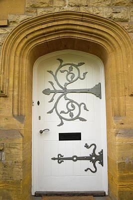 Ornate Door 1 Art Print by Douglas Barnett