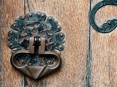 Photograph - Ornate Door Detail by Jean Noren