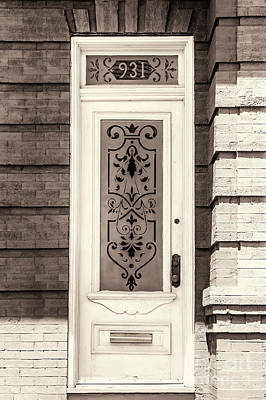 Photograph - Ornate Glass Panel by Frances Ann Hattier