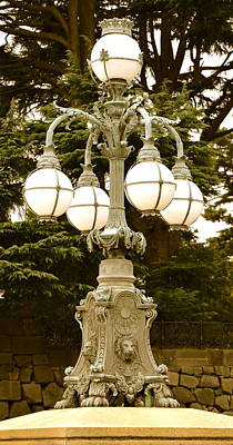 Photograph - Ornate Lamp by Corinne Rhode
