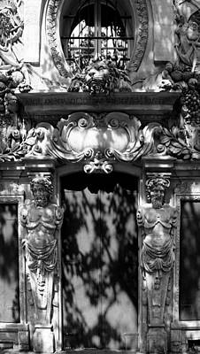 Photograph - Ornate Paris Door 1c by Andrew Fare