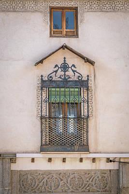 Photograph - Ornate Window by David Cote