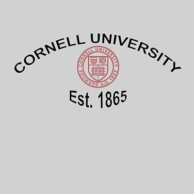 ornell University Est 1865 Print by Movie Poster Prints