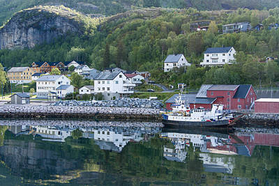 Photograph - Ornes Norway by Alan Toepfer