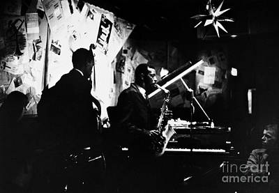 Saxophonist Photograph - Ornette Coleman (1930-) by Granger
