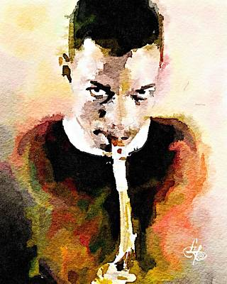 Digital Art - Ornette Coleman by Lynda Payton