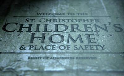 Old Age Digital Art - Orphanage Signage by Allan Swart