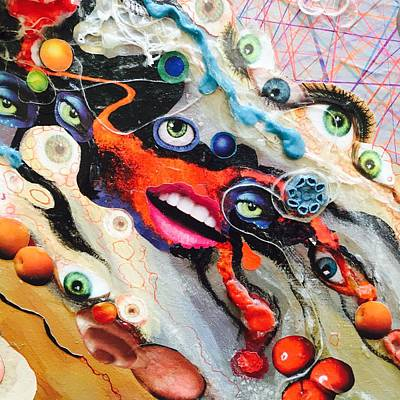Mixed Media - Eye Gumbo by Douglas Fromm