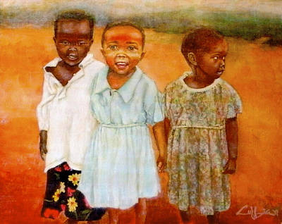 Painting - Orphans3 by G Cuffia