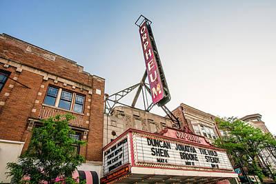 Photograph - Orpheum Facade by Todd Klassy