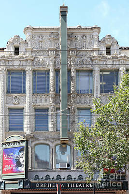 Photograph - Orpheum Theatre San Francisco California 5d18003 by San Francisco Art and Photography