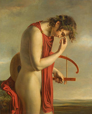 Paul Duqueylar Painting - Orpheus by Attributed to Paul Duqueylar