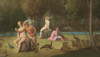 Centaur Painting - Orpheus by Venetian School