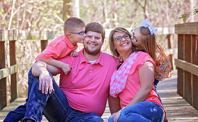 Photograph - Orrels Family #3 by Ester Rogers