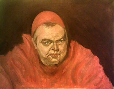 Orson Welles As Cardinal Wolsey Art Print