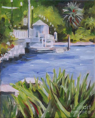 Painting - Ortega Bridge by Mary Hubley