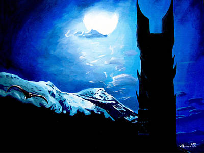Orthanc Rescue Art Print
