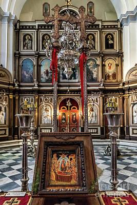 Orthodox Church Of St. Nicholas Art Print by John Greim