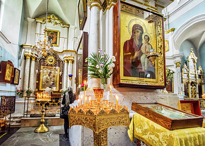 Photograph - Orthodox Icons by Andy Crawford