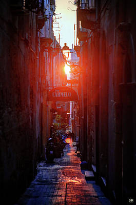 Photograph - Ortygia Sunset by John Meader