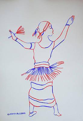 Orunyege Dance Bunyoro Uganda Art Print by Gloria Ssali