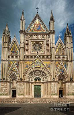 Orvieto Photograph - Orvieto Duomo by Inge Johnsson