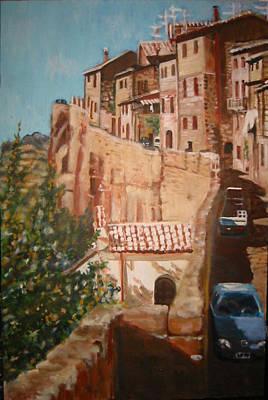 Painting - Orvieto by Fran Steinmark