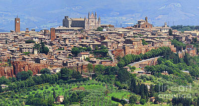 Photograph - Orvieto Panorama 0757 0758 0759 by Jack Schultz